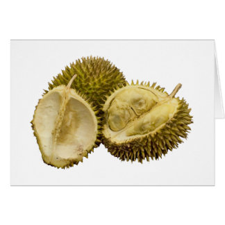 Everyone loves durian! greeting card