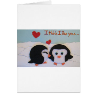 Everyone loves penguins! greeting card