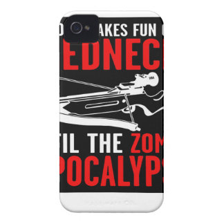 Everyone Makes Fun of the Redneck  Zombie Attack Case-Mate iPhone 4 Case