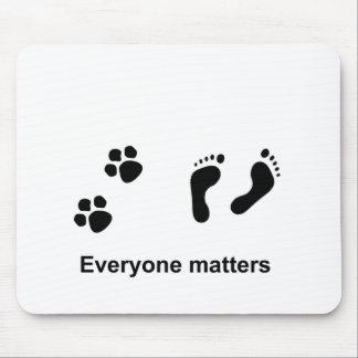 Everyone matters mouse mat