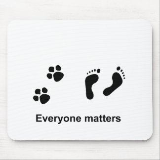 Everyone matters mouse pad