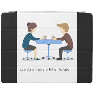 Everyone needs a little therapy - iPad Case iPad Cover