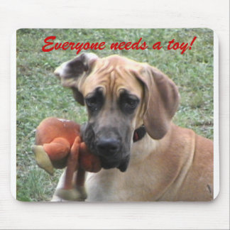 Everyone needs a toy! mouse mat