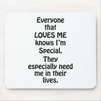 Everyone Special Mouse Pad