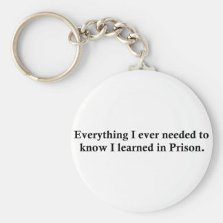 Everything and Prison Key Chain