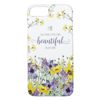 Everything Beautiful - Ecc 3:11 iPhone 8/7 Case