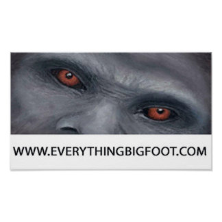 Everything Bigfoot.com Poster
