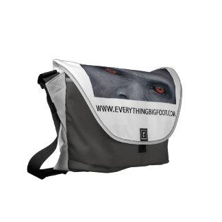 Everything Bigfoot Messenger Bag