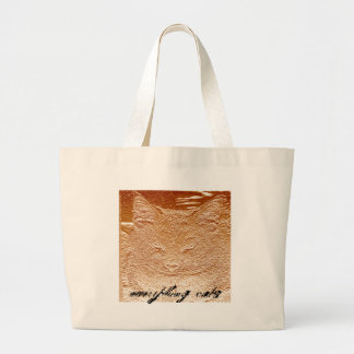 Everything Cats Design Canvas Bags