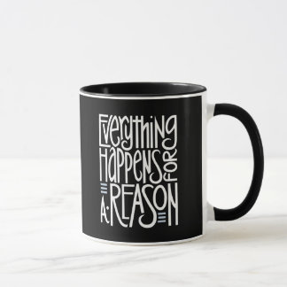 Everything Happens white Mug