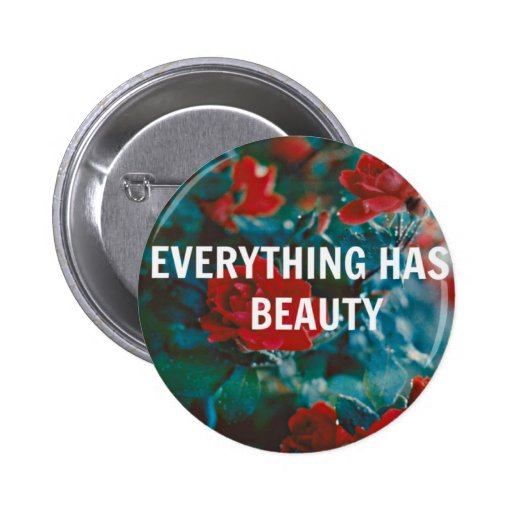 Who Is Button Beauty: Everything Has Beauty Pinback Buttons