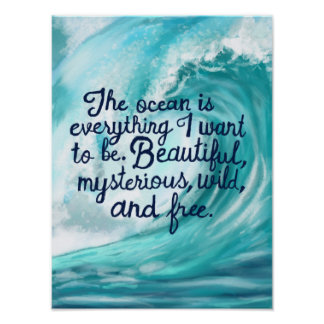 Everything I want to be Poster
