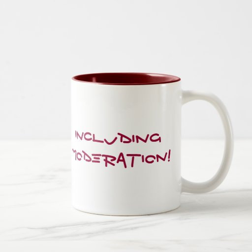 Everything in Moderation... NOT Mug