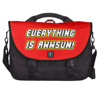 Everything is awwsum computer bag