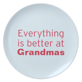 Everything is better at Grandma's Plate