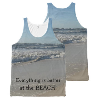 Everything is better at the BEACH Fun Tank Top