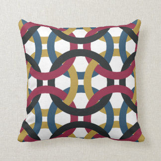 Everything Is Connected Retro Throw Pillow Decor