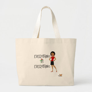 Everything is everything Sophisticated Lady Tote B Tote Bags