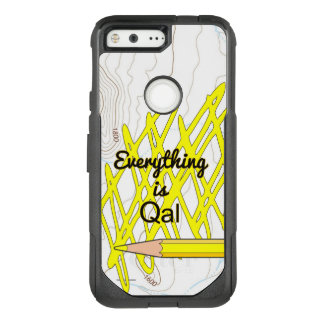 Everything is Quaternary Alluvium OtterBox Commuter Google Pixel Case