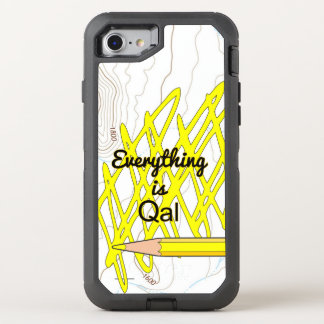 Everything is Quaternary Alluvium OtterBox Defender iPhone 8/7 Case