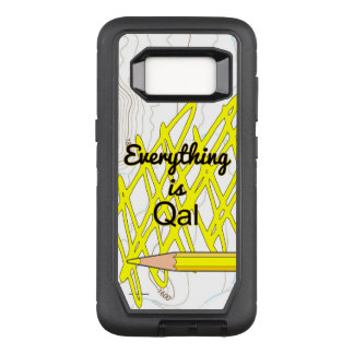 Everything is Quaternary Alluvium OtterBox Defender Samsung Galaxy S8 Case