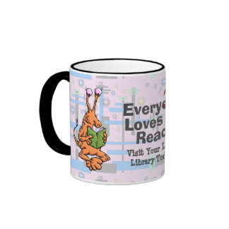 EveryTHING Loves To Read. Mugs