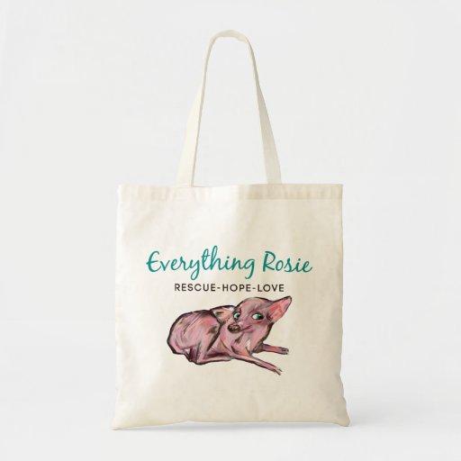 Everything Rosie Tote Tote Bags