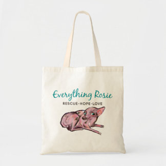 Everything Rosie Tote Budget Tote Bag
