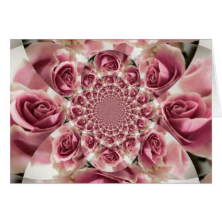 Everything s Coming Up Roses Floral Ensemble Card