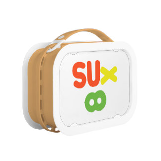 Everything Sucks ~ Sux Infinity Lunch Box