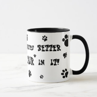 everything tastes better with cat hair mug! mug