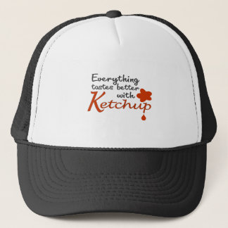 Everything Tastes Better With Ketchup Trucker Hat