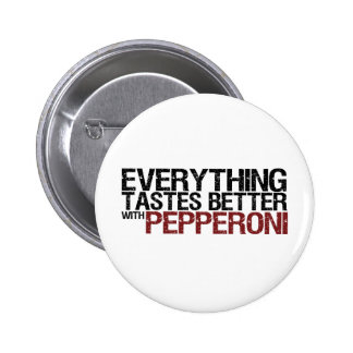 Everything tastes better with pepperoni buttons