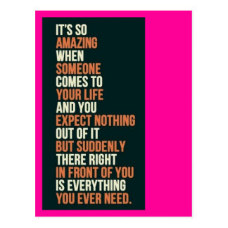 Everything You Need Postcards