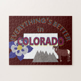 Everything's Better in Colorado Puzzle
