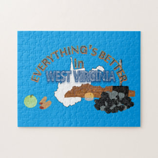 Everything's Better in West Virginia Puzzle