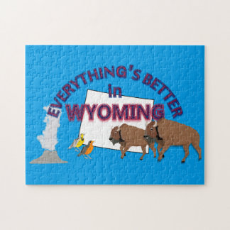 Everything's Better in Wyoming Puzzle