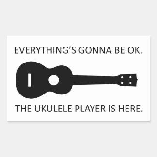 Everything's Gonna Be OK Rectangular Sticker