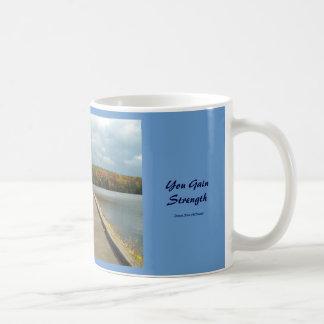 Everytime You Fall and StandBack Up..Mug Basic White Mug