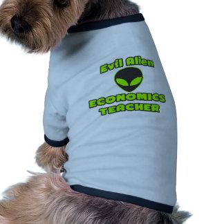 Evil Alien Economics Teacher Doggie Tee