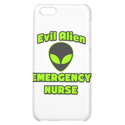 Evil Alien Emergency Nurse iPhone 5C Covers