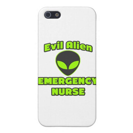 Evil Alien Emergency Nurse iPhone 5 Cover