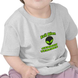 Evil Alien German Teacher Shirt