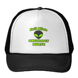 Evil Alien Oncology Nurse Mesh Hats