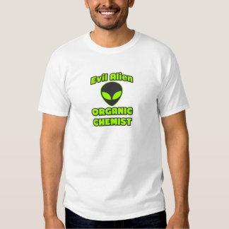 Evil Alien Organic Chemist Tshirt