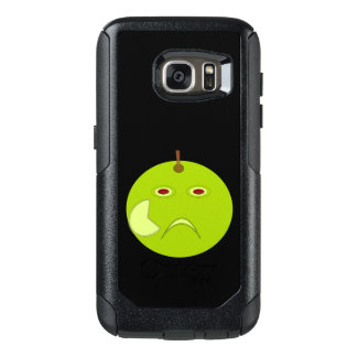 Evil Apple with Scar Halloween Phone Case