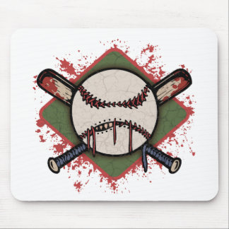 Evil Ball & Cross Bats Mouse Mat