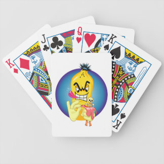 Evil Banana Peel Bicycle Playing Cards