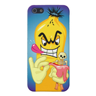 Evil Banana Peel iPhone 5 Case