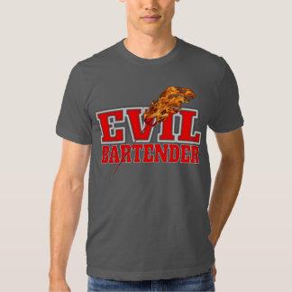 Evil Bartender Drinking T-shirts
